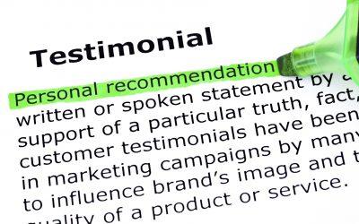 Double the effectiveness of testimonials