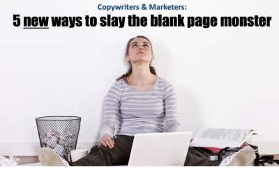 5 New Ways to Slay the Blank Page Monster