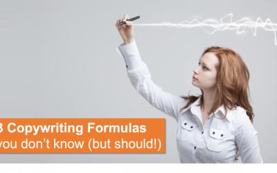 3 Copywriting Formulas You Don't Know (But Should!)